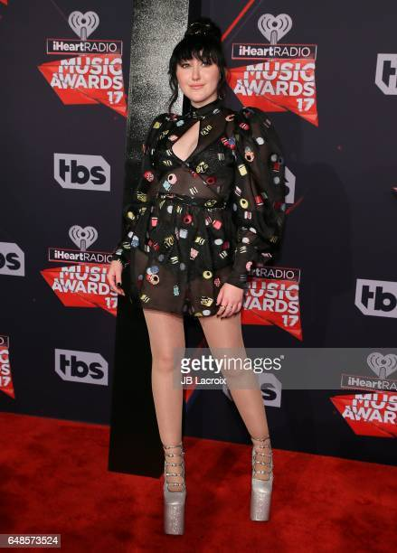 Noah Cyrus attends the 2017 iHeartRadio Music Awards at The Forum on March 5 2017 in Inglewood California