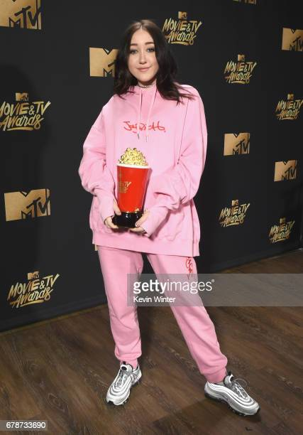 Noah Cyrus attends the 2017 MTV Movie And TV Awards Press Junket on May 4 2017 in Los Angeles California