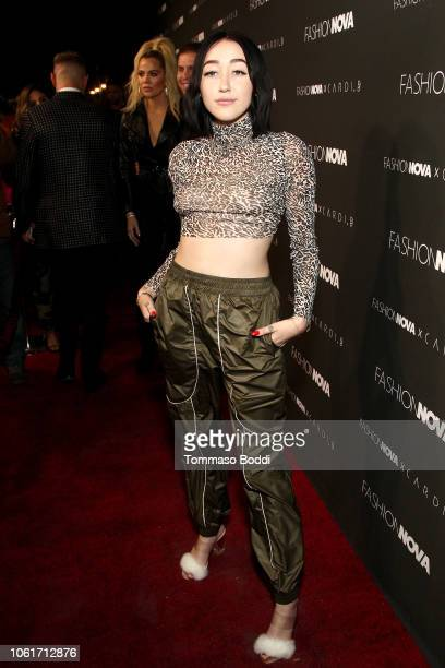 Noah Cyrus attends the Fashion Nova x Cardi B Collaboration Launch Event at Boulevard3 on November 14 2018 in Hollywood California
