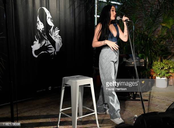 Noah Cyrus performs at The Crystal Campaign Collection Launch at Urban Outfitters Space 15Twenty on October 19, 2019 in Los Angeles, California.