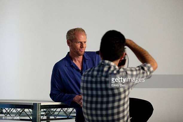 Noah Emmerich is photographed behind the scenes of The Hollywood Reporter's Emmy Supporting Actor Portrait shoot at Siren Orange Studios for The...