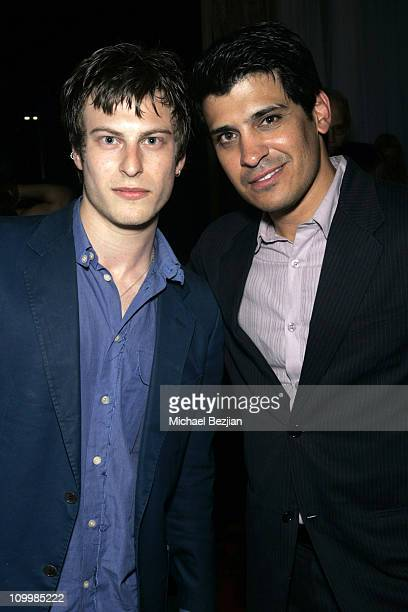 Noah Fegan and Antonio Rufino during 4th Annual Indie Producers Awards Gala After Party in Los Angeles California United States