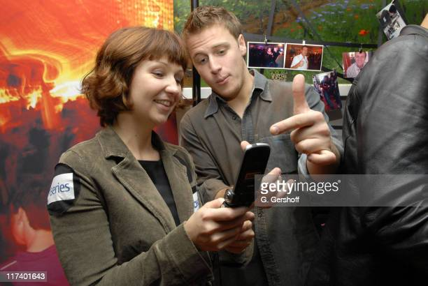 """Noah Fleiss and a Nokia representative during 14th Annual Hamptons International Film Festival - Private """"Rising Stars"""" Brunch at The Maidstone Arms..."""