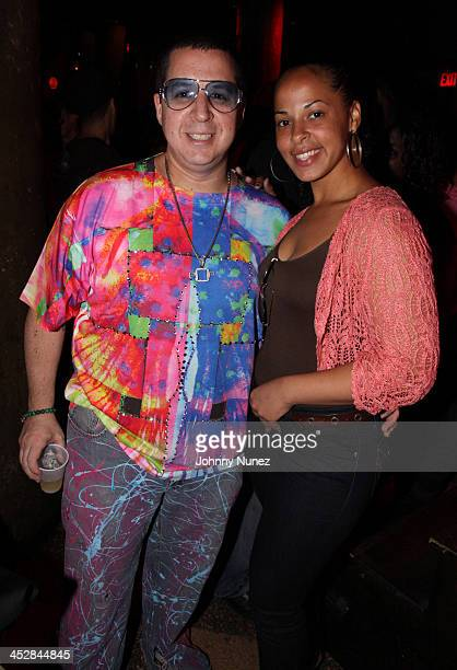 Noah G Pop and Eve Lora attend the Rebirth of Hip Hop Showcase at SOB's on August 4 2009 in New York City