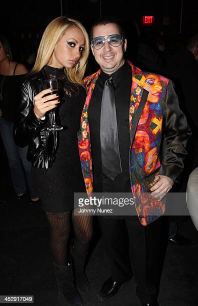 Noah G Pop and guest attend the New York Yankees Victory Party at the 40 / 40 Club on November 6 2009 in New York City