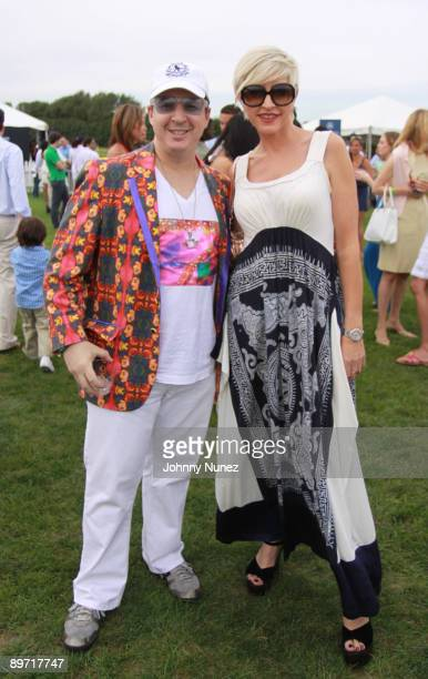 Noah G Pop and Heather Mills attend the fourth weekend of the 2009 MercedesBenz Polo Challenge at Blue Star Jets Field at Two Trees Farm on August 8...