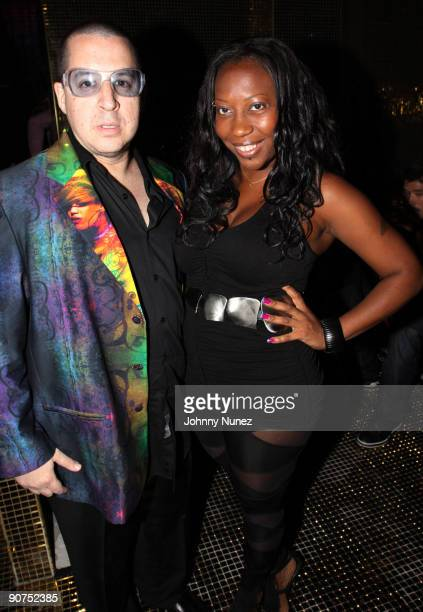 Noah G Pop and Kiki Kitty attend the DEF JAM 25th anniversary celebration at Juliet on September 12 2009 in New York City