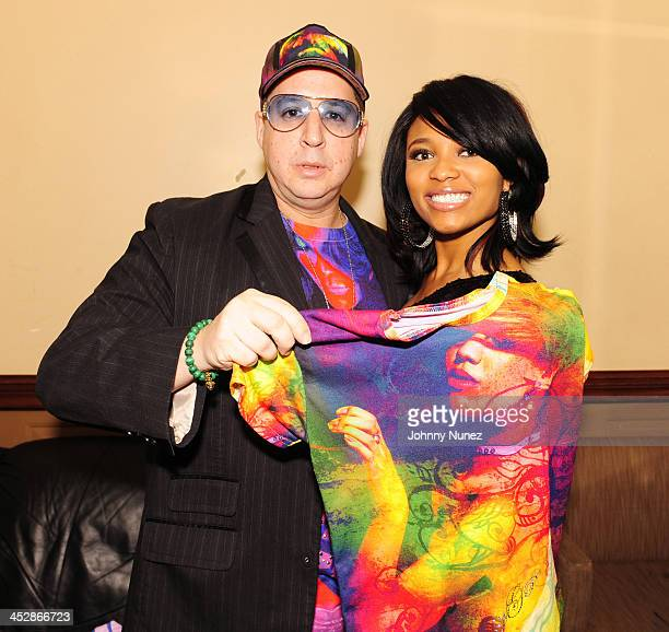Noah G Pop and Teairra Mari attend Power Live at BB King Blues Club Grill on August 31 2009 in New York City