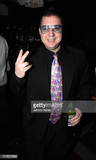Noah G Pop attends Consequence Birthday Party at Thompson Hotel Gild Hall Library on April 16 2011 in New York City