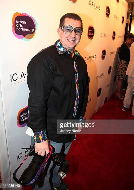 Noah G Pop attends the 2012 Project Canvas Exhibition Art Gala at The Opera Gallery on May 11 2012 in New York City