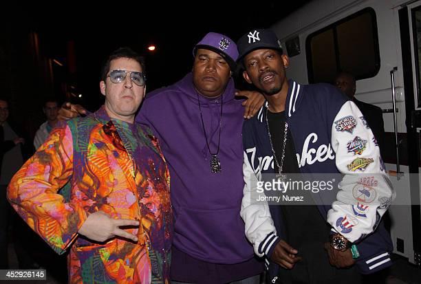 Noah G Pop Craig G and Kurupt attend Brooklyn Bowl on April 19 2010 in the Brooklyn Borough of New York City