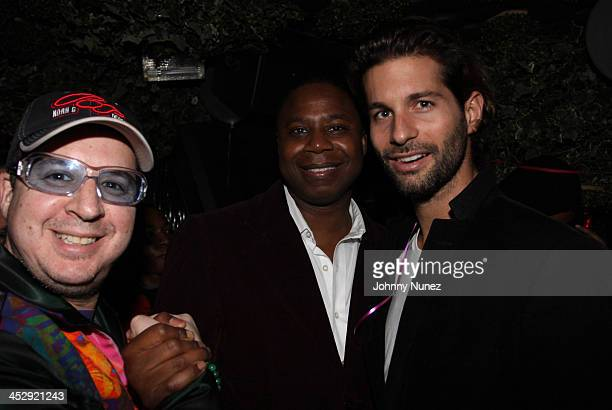 Noah G Pop Doug E Fresh and Lucio Salvatore attend the 1 year anniversary celebration at Greenhouse on November 18 2009 in New York City