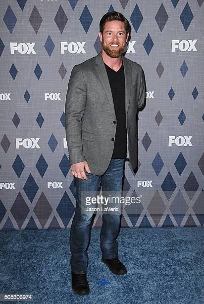 Noah Galloway attends the FOX winter TCA 2016 AllStar party at The Langham Huntington Hotel and Spa on January 15 2016 in Pasadena California