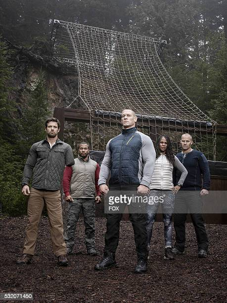 Noah Galloway Nick The Reaper Irving John Cena Tawanda Tee Hanible and Rorke Denver AMERICAN GRIT a new 10episode competition series starring WWE®...