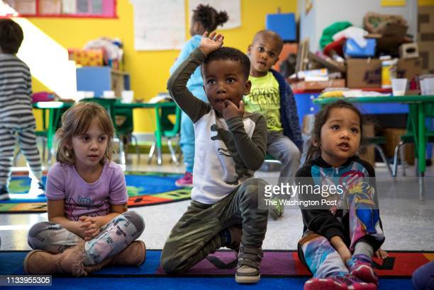 Noah Goliday in his pre-K class at Elsie Whitlow Stokes Community Freedom Public Charter School. A system launched in 2014-15 permits families to...