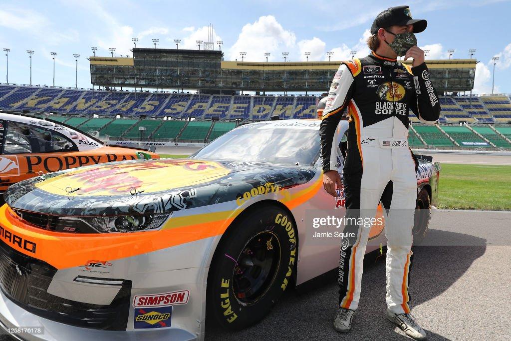 NASCAR Xfinity Series Kansas Lottery 250 : News Photo