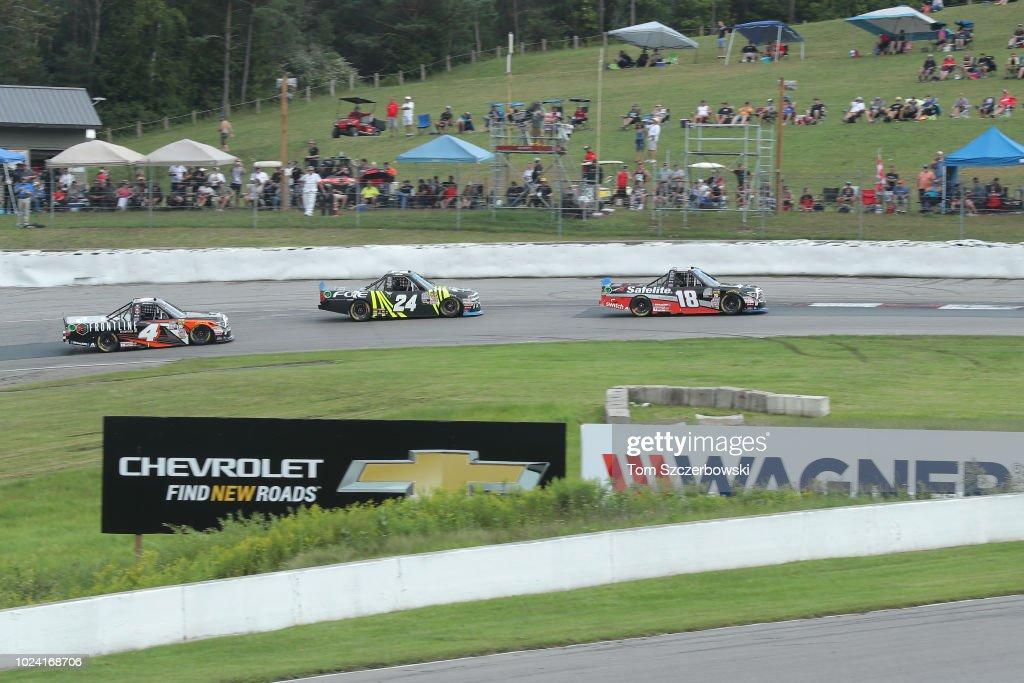 NASCAR Camping World Truck Series Chevrolet Silverado 250 : News Photo