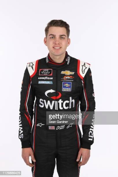 Noah Gragson poses for a photo at Daytona International Speedway on February 14 2019 in Daytona Beach Florida
