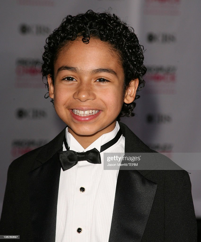 Noah Gray-Cabey during 33rd Annual People's Choice Awards - Arrivals at Shrine Auditorium in Los Angeles, California, United States.