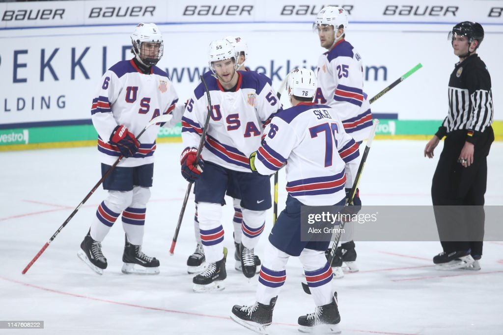 Germany v USA - Ice Hockey International Friendly : Fotografía de noticias