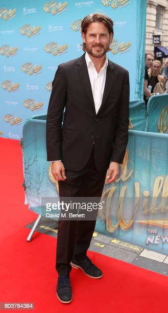 Noah Huntley attends the press night performance of 'The Wind In The Willows' at the London Palladium on June 29 2017 in London England