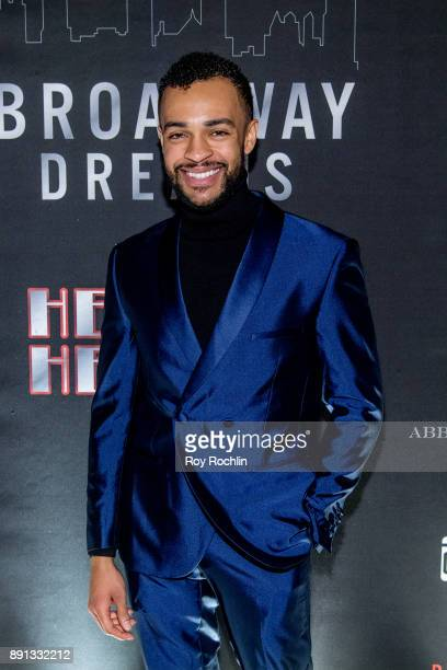 Noah J Ricketts attends the10th Annual Broadway Dreams Supper at The Plaza Hotel on December 12 2017 in New York City