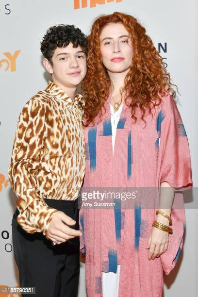 Noah Jupe and Alma Har'el attend the premiere of Amazon Studios Honey Boy at The Dome at Arclight Hollywood on November 05 2019 in Hollywood...