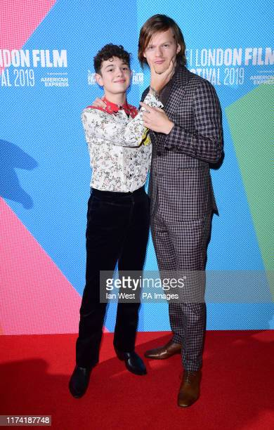 Noah Jupe and Lucas Hedges attending the screening of Honey Boy as part of the BFI London Film Festival at the Vue West End in London PA Photo...