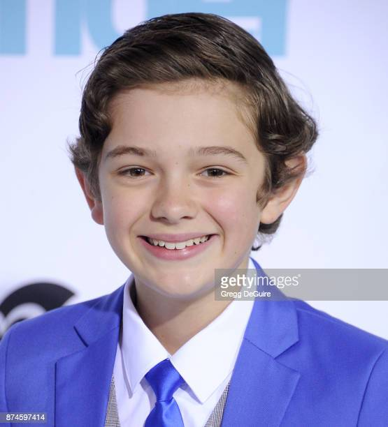 Noah Jupe arrives at the premiere of Lionsgate's 'Wonder' at Regency Village Theatre on November 14 2017 in Westwood California