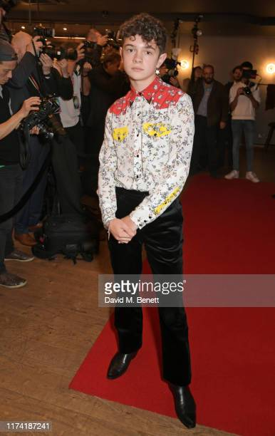 Noah Jupe attends the European Premiere of Honey Boy during the 63rd BFI London Film Festival at Vue West End on October 6 2019 in London England