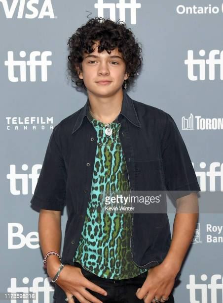 Noah Jupe attends the Ford v Ferrari press conference during the 2019 Toronto International Film Festival at TIFF Bell Lightbox on September 10 2019...