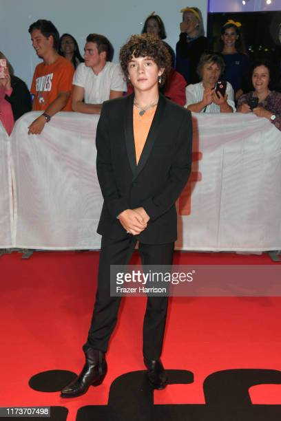Noah Jupe attends the Honey Boy premiere during the 2019 Toronto International Film Festival at Roy Thomson Hall on September 10 2019 in Toronto...