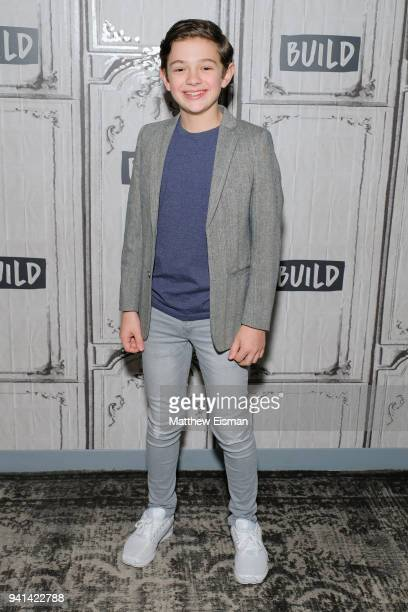 Noah Jupe visits Build Studio to discuss the film 'A Quiet Place' on April 3 2018 in New York City
