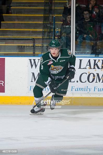 Noah Juulsen of Everett Silvertips skates against the ...