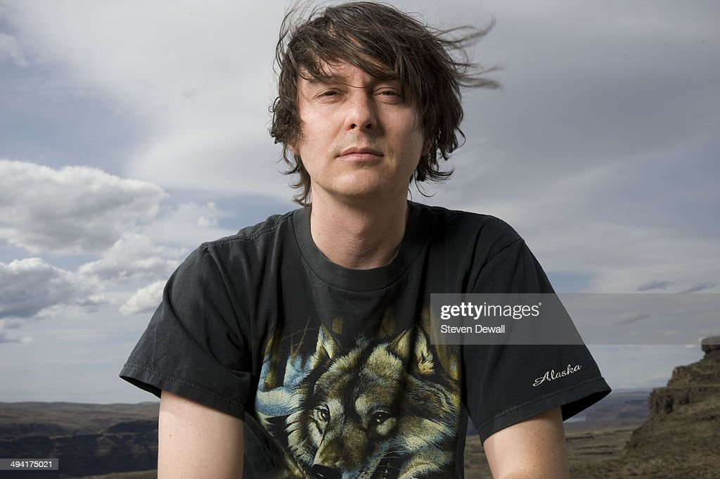 Noah Lennox of Panda Bear poses for a portrait backstage on day 2 of Sasquatch! Music Festival at the Gorge Amphitheater on May 24, 2014 in George, United States.