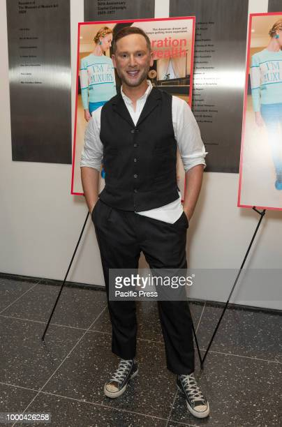Noah Levy attends premiere of documentary Generation Wealth at Museum of Modern Art.