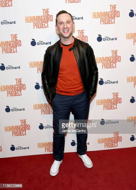 """Noah Levy attends """"The Hummingbird Project"""" New York Screening at Metrograph on March 11, 2019 in New York City."""