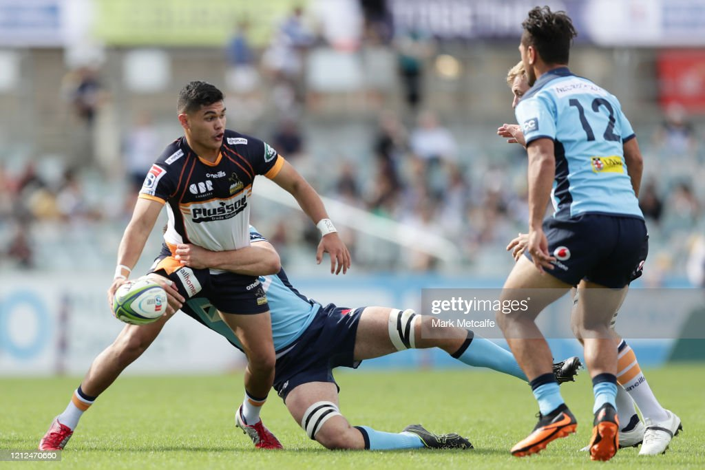 Super Rugby Rd 7 - Brumbies v Waratahs : News Photo