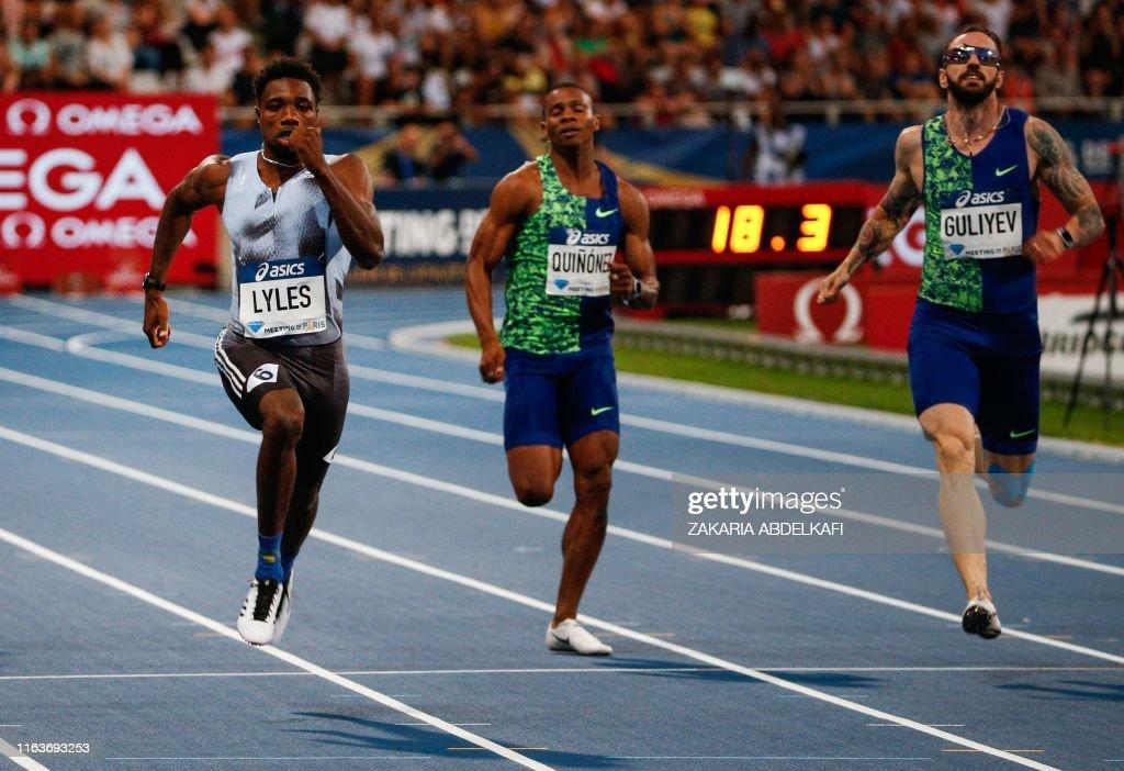 ATHLETICS-FRA-IAAF-DIAMOND : News Photo