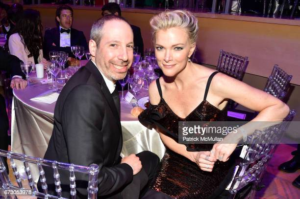 Noah Oppenheim and Megyn Kelly attend the 2017 TIME 100 Gala at Jazz at Lincoln Center on April 25 2017 in New York City