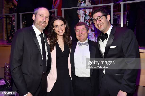 Noah Oppenheim Lauren Schuker Blum Edward Felsenthal and Sam Jacobs attend the 2017 TIME 100 Gala at Jazz at Lincoln Center on April 25 2017 in New...