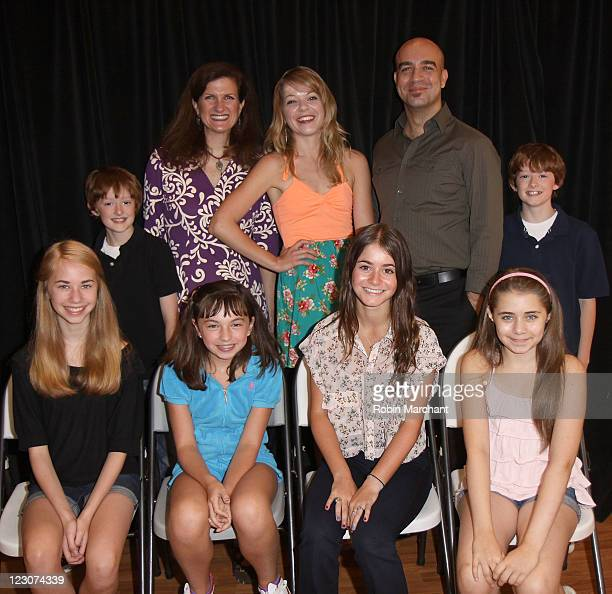 Noah Radcliffe Tina Stafford Jillian Louis Eric Anderson and Ben Radcliffe Leah Greenhaus Sarah Safer Alison Jaye Horowitz and Rachel Resheff attend...