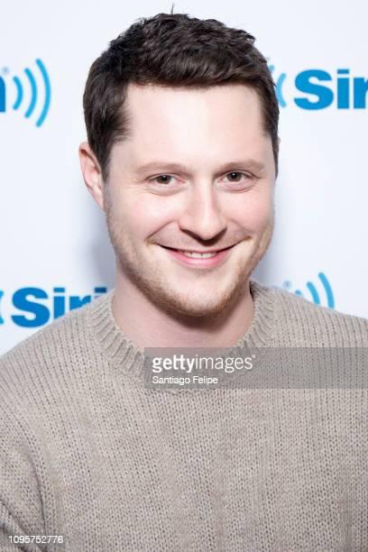 Noah Reid visits SiriusXM Studios on January 17 2019 in New York City