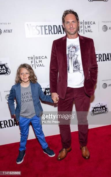 Noah Rev Maurer and Josh Lucas attend Yesterday Closing Night Gala Filmattend Yesterday Closing Night Gala Film during 2019 Tribeca Film Festival at...