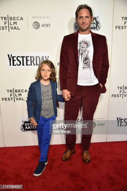 Noah Rev Maurer and Josh Lucas attend Yesterday Closing Night Gala Film 2019 Tribeca Film Festival at BMCC Tribeca PAC on May 04 2019 in New York City