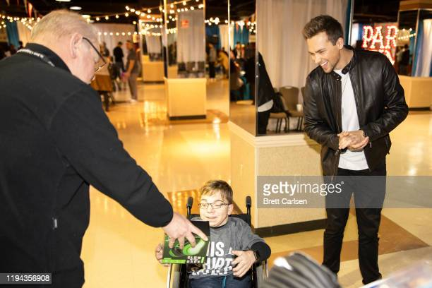 Noah Schnacky attends the Country Cares for St Jude Kids Seminar at The Peabody on January 17 2020 in Memphis Tennessee