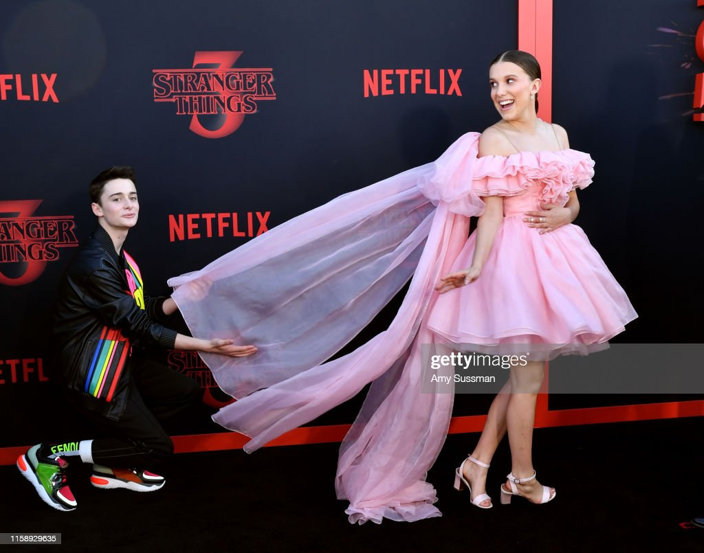 "Premiere Of Netflix's ""Stranger Things"" Season 3 - Arrivals : News Photo"