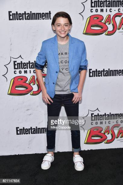 Noah Schnapp at Entertainment Weekly's annual ComicCon party in celebration of ComicCon 2017 at Float at Hard Rock Hotel San Diego on July 22 2017 in...