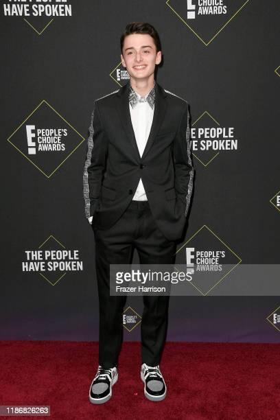 Noah Schnapp attends the 2019 E People's Choice Awards at Barker Hangar on November 10 2019 in Santa Monica California