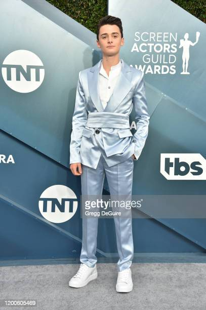 Noah Schnapp attends the 26th Annual Screen Actors Guild Awards at The Shrine Auditorium on January 19 2020 in Los Angeles California 721430